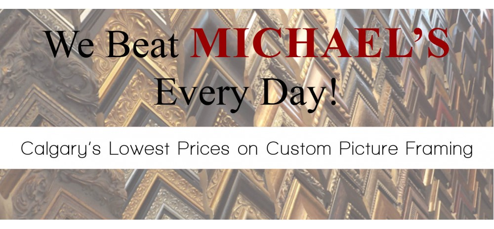 Calgary canvas printing services calgary custom picture framing canvas we beat michaels solutioingenieria Image collections